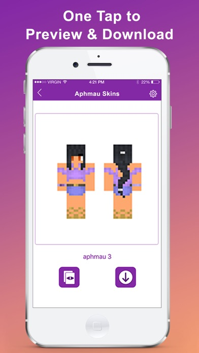Aphmau Skins Free for Minecraft by jiasheng yuan (iOS