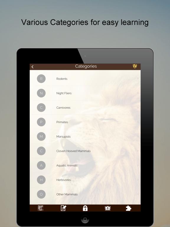 Animals Encyclopedia (Facts, Classification, Biodiversity, Habitat) & Puzzle screenshot
