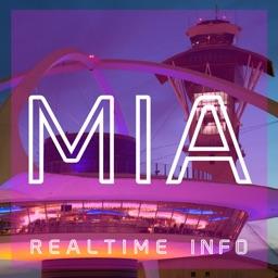 MIA AIRPORT - Realtime Flight Info - MIAMI INTERNATIONAL AIRPORT
