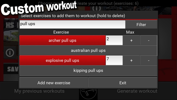TrainingPal - Calisthenics trainer screenshot-3