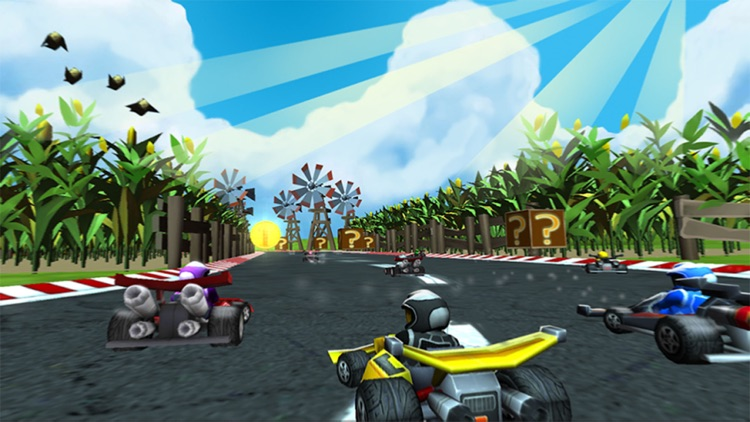 Bomber Kart Racing! screenshot-3