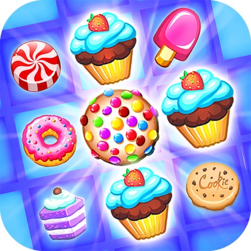 Super Cookies Star:Game Match3 iOS App