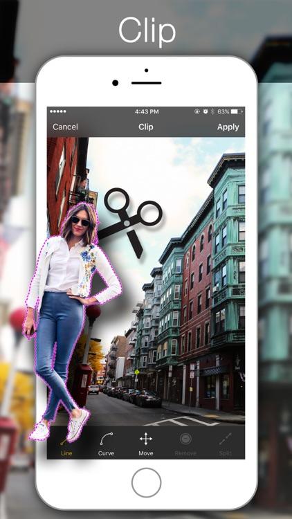 Rapit Photo Editor - Enhance, Pic Collage, Frame Maker, Decoration screenshot-4