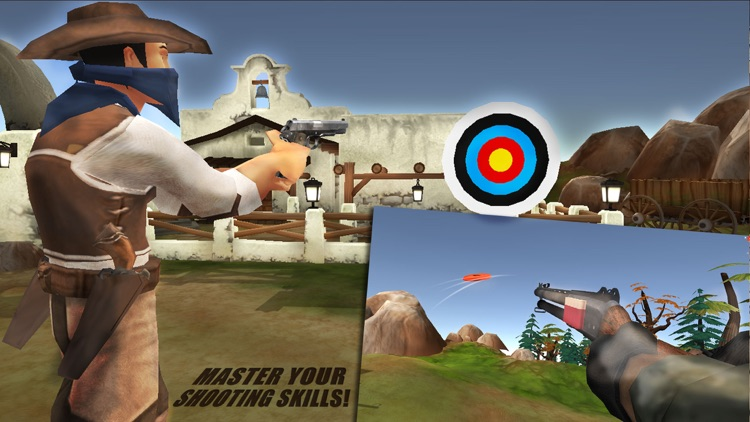 Wild-West Cowboy Real Shooting Game 3D screenshot-4
