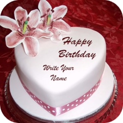 Name On Birthday Cake On The App Store