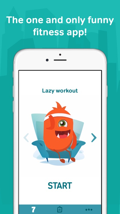 7 minute workouts with lazy monster PRO: daily fitness for kids and women  - 750x750bb - Fitness Apps for Kids