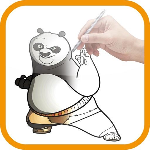 Artist Orange - How to Draw Panda Kung Fu