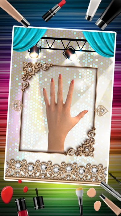 Nail Art Makeover Salon – Little Princess Nail Manicure Dressup Games for Girls screenshot two