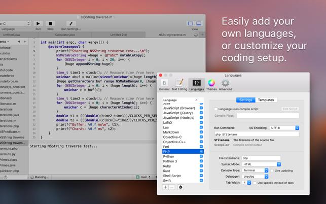 CodeRunner 2 Screenshot