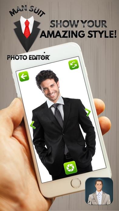 男性スーツ 写真編集者 – スタイリッシュな男性のためのファッションドレスアップゲーム紹介画像3