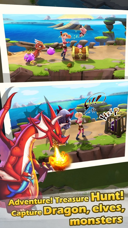 Dragon Feud : Family city simulation and Pet battle card evolution games screenshot-4