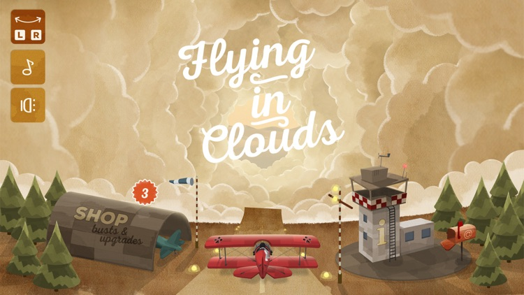 Flying in Clouds screenshot-0