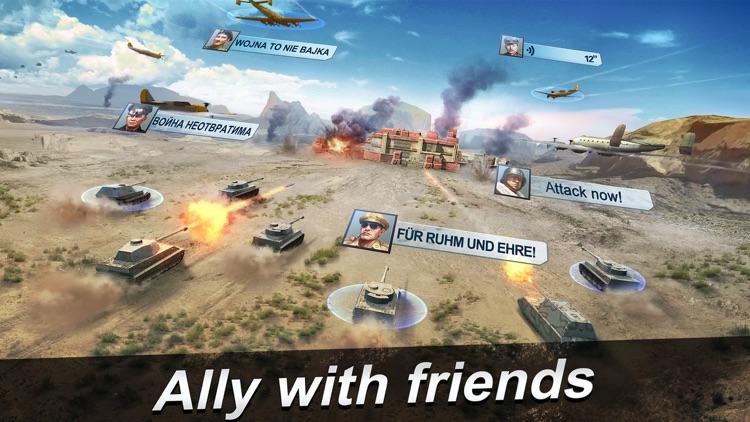 World Warfare - 3D MMO Wargame in WWII screenshot-3