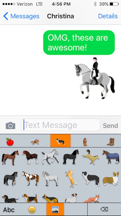 HorseMoji: Equestrian Emoji screenshot-3