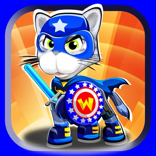 Super Hero Cat Guards Creator - Go Dress Up Superhero Dogs and Pet Games for Free iOS App