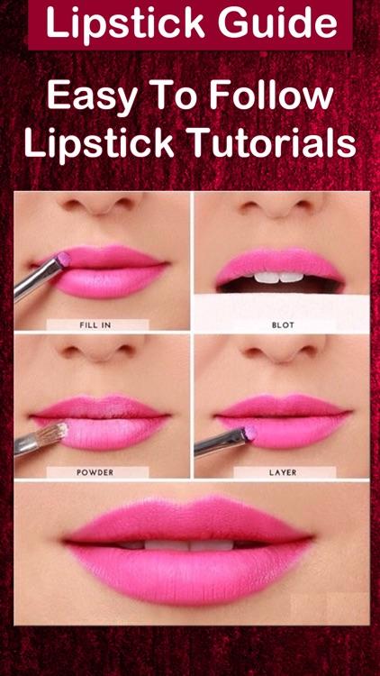 Lipstick Makeup Tutorials screenshot-4