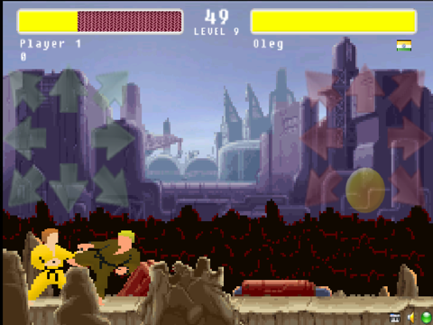 Street Karate Fighter-ipad-1