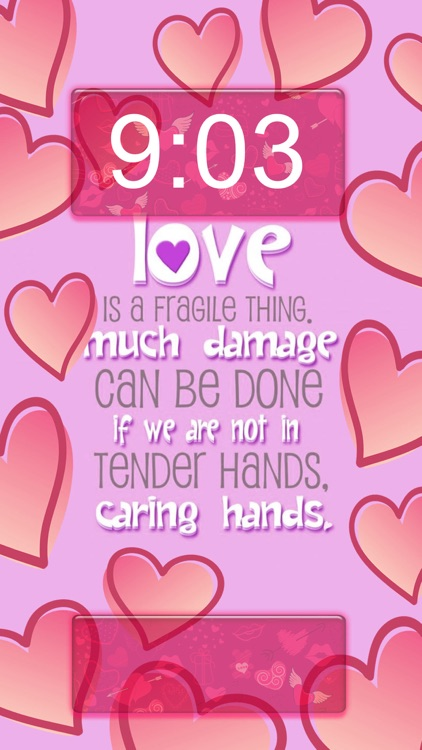 Love Quotes Wallpapers Free 2016 – Cute Backgrounds For Girls with Lock Screen Themes screenshot-3