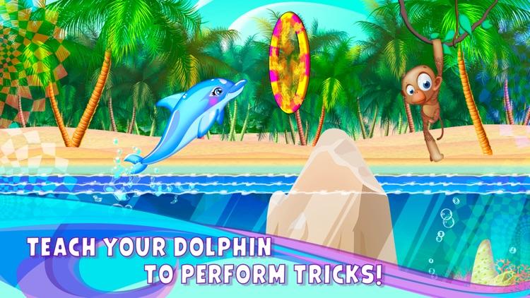 Princess Dolphin and Shark Rescue Free screenshot-4