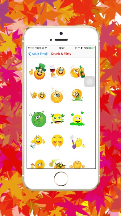 Download Adult Emoji - Sexy love flirty romantic icon keyboard for Android