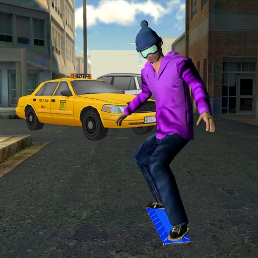 City Skateboard Racing : True Xtreme Urban Street Skate Simulator Game icon