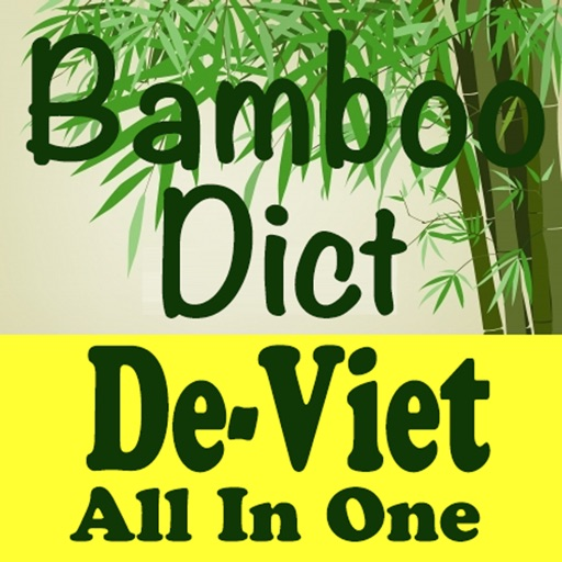 Bamboo Dict German-Vietnamese All In One