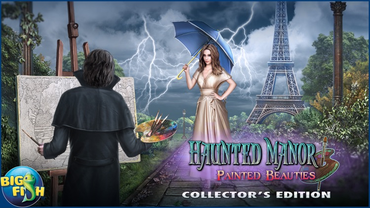 Haunted Manor: Painted Beauties - A Hidden Objects Mystery screenshot-3
