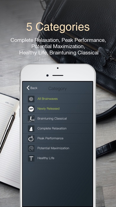Brainwaves for Business Elite – Focus more on work and studying with brainwave entrainmentのおすすめ画像2