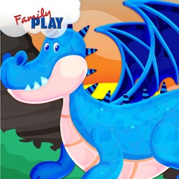 Dragons and Puzzles: Puzzles for Kids Free