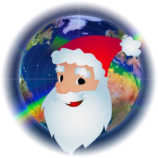 Santa Tracker Christmas Free Icon
