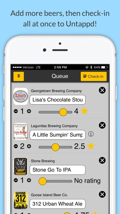 BeerSwift: Faster & Offline Check-Ins for Untappd screenshot-3
