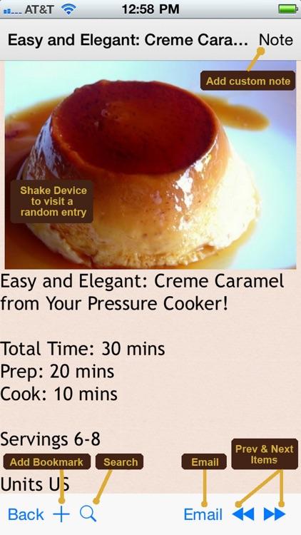 Pressure Cooker Recipes Plus+ screenshot-4