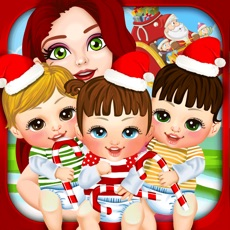 Activities of Mommy's Christmas Newborn Baby Salon - My Xmas Santa Makeover Doctor Games for Girls!