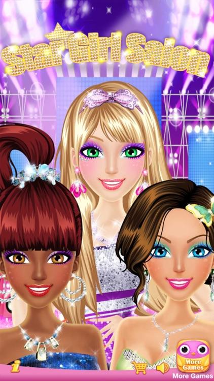 Star Girl Salon™ - Girls Makeup, Dressup and Makeover Games