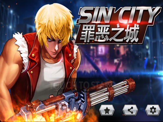 Sin City - Fighting Shooting Games-ipad-0