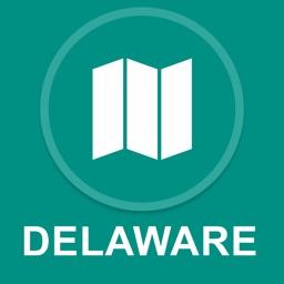 Delaware : Offline GPS Navigation