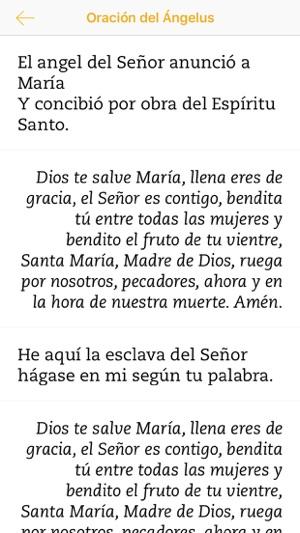 ángelus Rezar A María En App Store