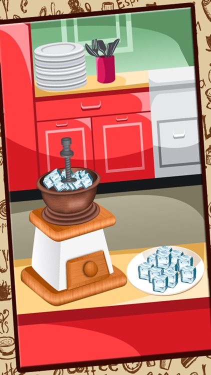 Ice Coffee maker - Make creamy dessert in this cooking fever game for kids screenshot-3