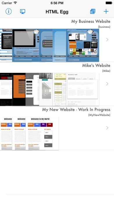 Html Egg Website Creator review screenshots