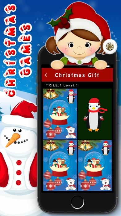 Kids santa Game - Christmas Party for Toddler screenshot three