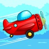 Metal Airplane Race over Skies