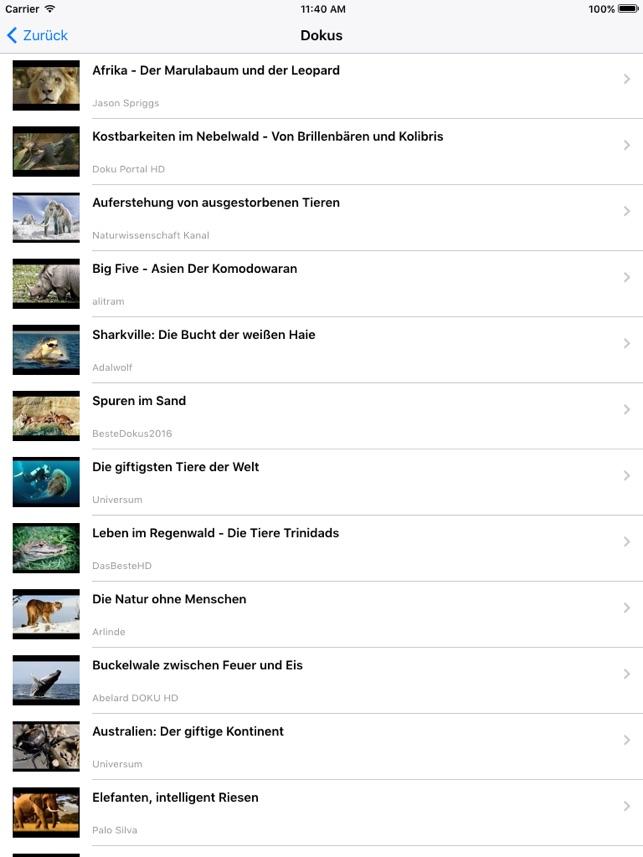 Doku TV - Reportagen, Dokumentationen & Videos Screenshot