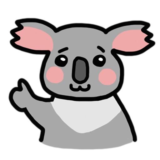 Lazzi The Koala Stickers