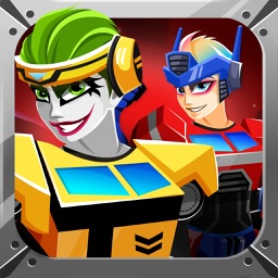 Robot Squad War Dress Up– Maker Games for Kid Free