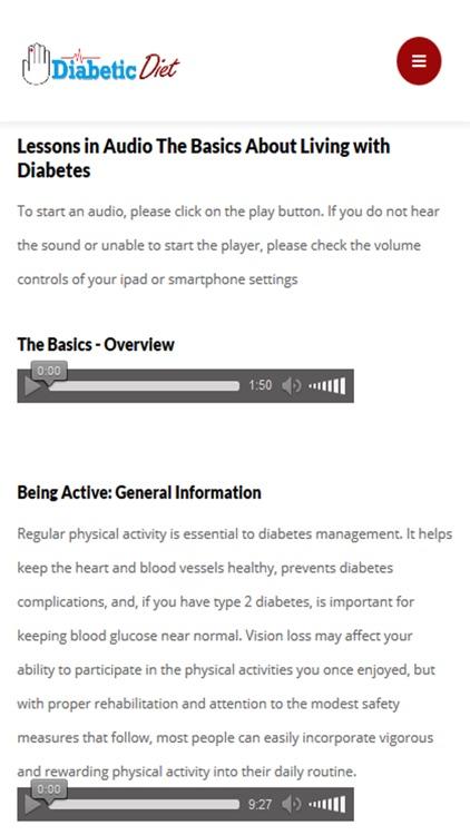 Diabetic Diet Plan: Guide and Recipes screenshot-3