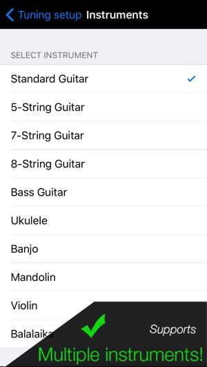 Pro Guitar Tuner Screenshot