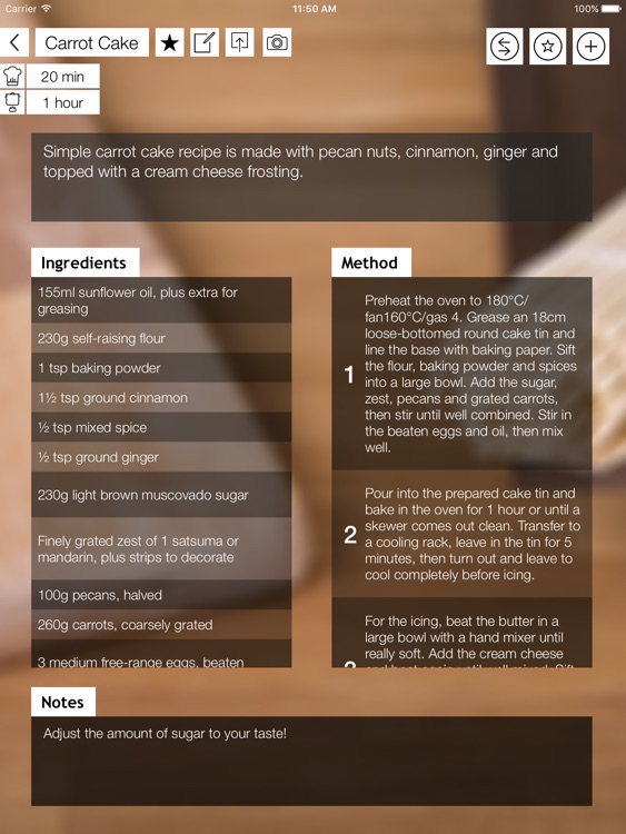 Recipe Pad - Your Recipe Book on your iPad!