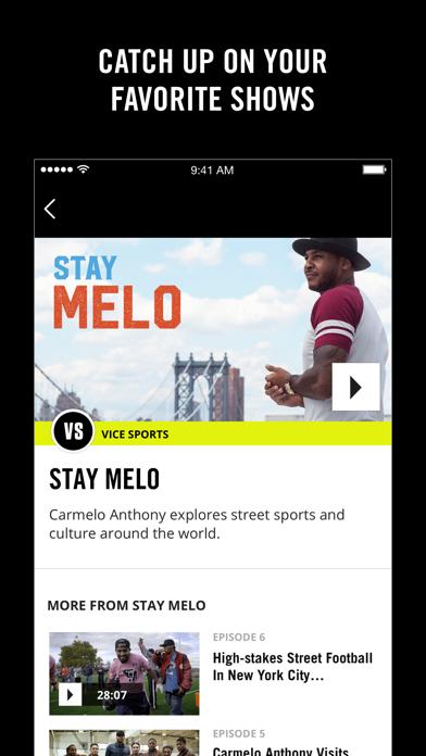 Screenshot 4 for VICE's iPhone app'