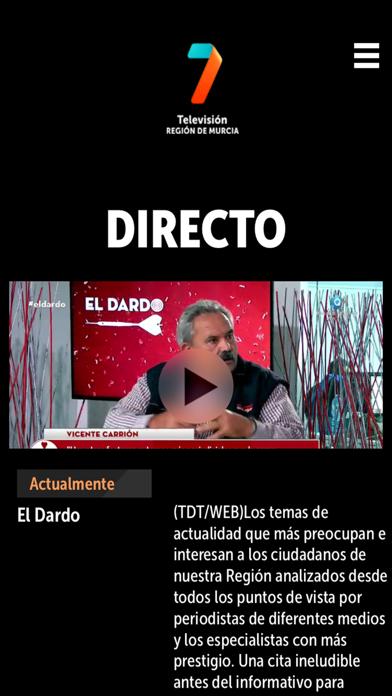 7TV PLAYER Región de MurciaCaptura de pantalla de3
