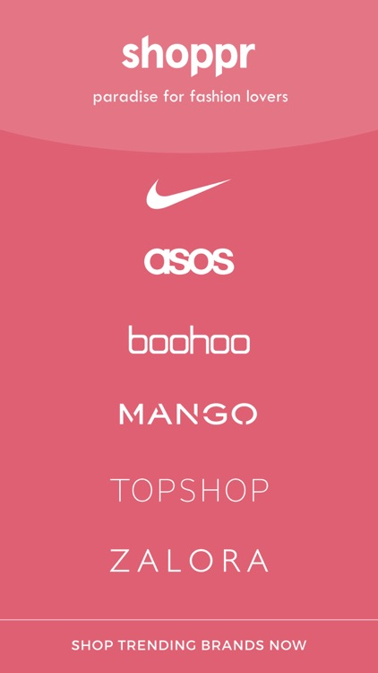 Shoppr - Fashion Shopping
